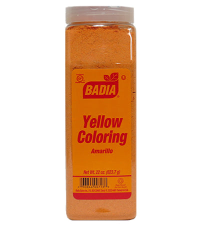 Food Color Yellow (Powder) - 22 oz. Jar