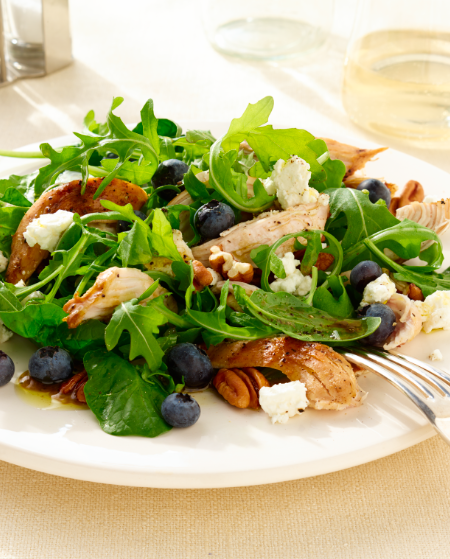 Blueberry Grilled Chicken Salad