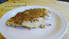 Quinoa Crusted Chicken Breast