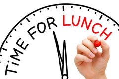 The importance of your lunch break