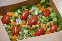 Lemon Herbed Chickpea Salad
