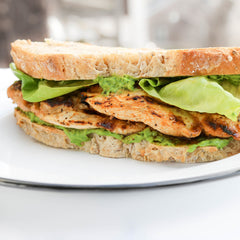 Grilled Chicken Avocado Sandwich
