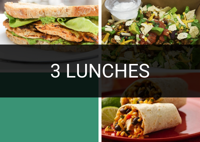 Three Lunches