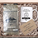 Sober Coffee Gift Basket for Dad
