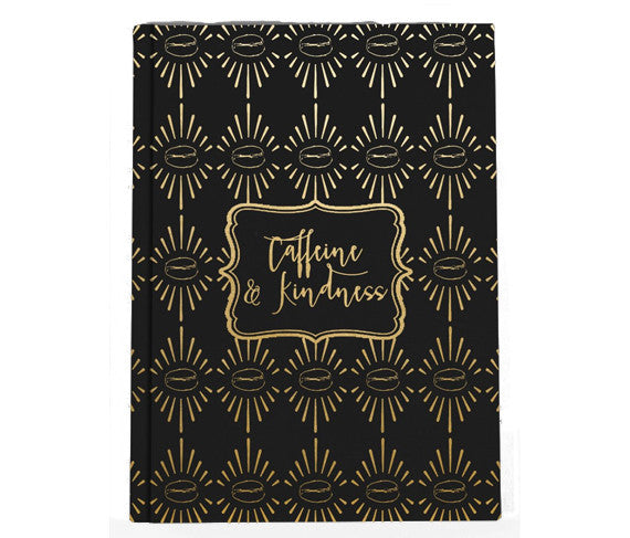 Caffeine & Kindness Small Journal Notebook - Fairtrade