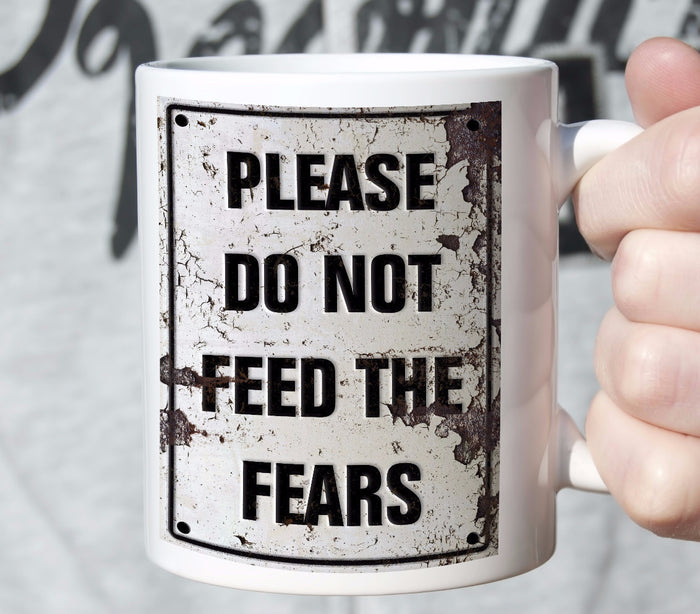Coffee Mug Design Please Do No Feed...