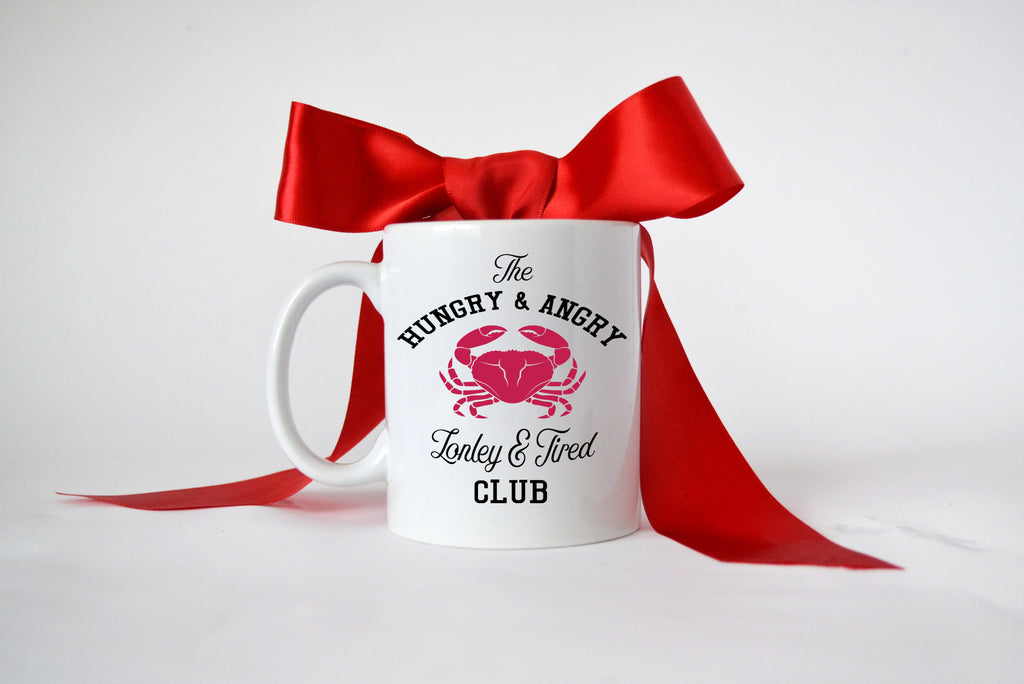 Coffee Mug | Hungry & Angry - Lonely & Tired Club