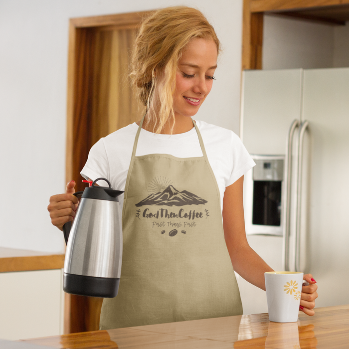 God Then Coffee Signature Apron
