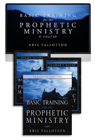 Basic Training for the Prophetic Ministry Ecourse with Kris Vallotton