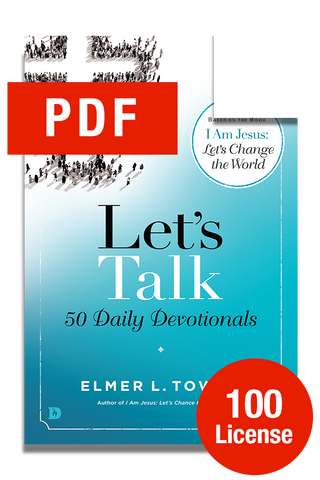 Let's Talk: 50 Daily Devotions - 100 Licenses (Digital Download)