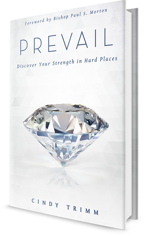 Prevail: Discover Your Strength in Hard Places (Hard Cover) PROMO