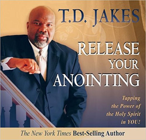 Release Your Anointing Audio Book (CD)