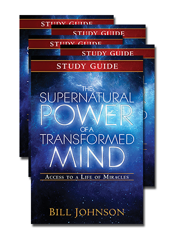 Bundle of 5 Supernatural Power of a Transformed Mind Study Guide