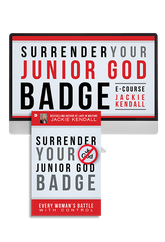 Surrender Your Jr God Badge Ecourse with Jackie Kendall