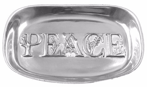 Peace Serving Tray (Polished)