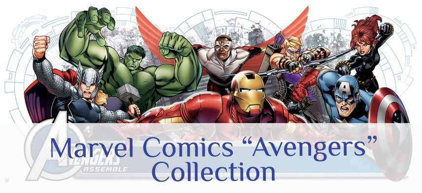 "About Wall Decor's ""Marvel Comics"" Avengers Collection"