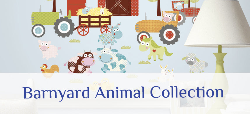 About Wall Decor's Barnyard Animal Collection