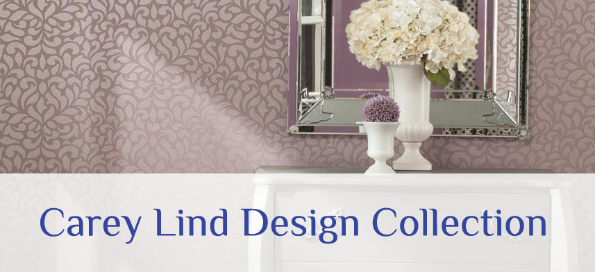 "About Wall Decor's ""Carey Lind Designs"" Wallpaper Collection"