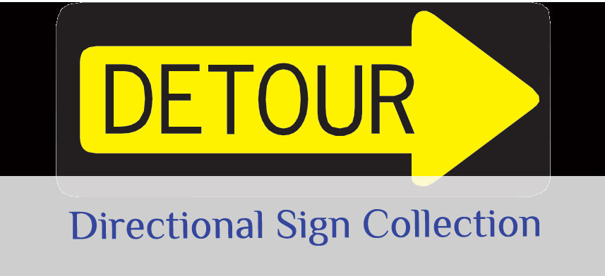 About Wall Decor's Directional Sign Collection