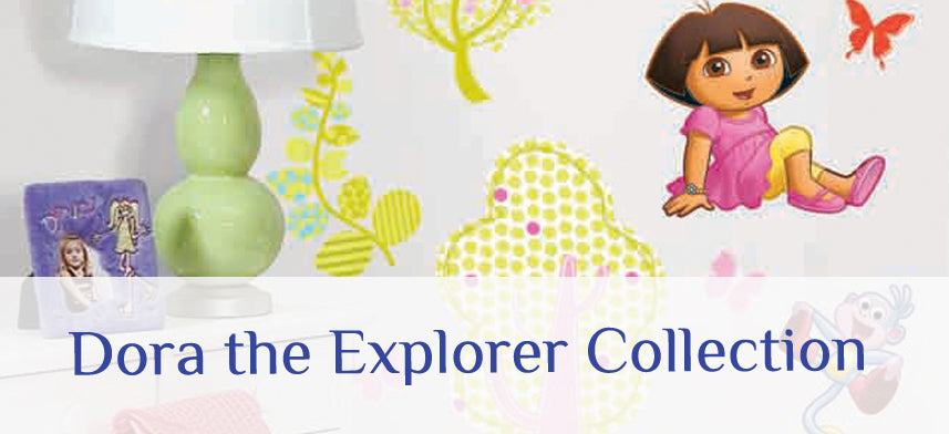"About Wall Decor's ""Dora the Explorer"" Collection"