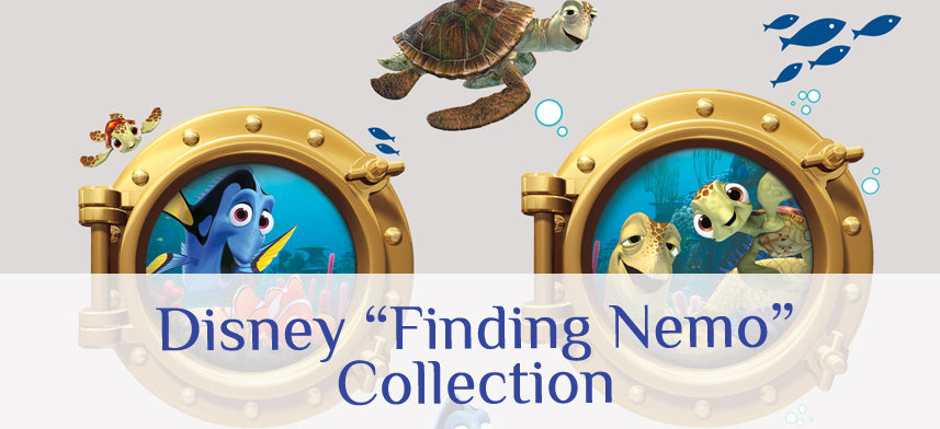 "About Wall Decor's ""Disney"" Finding Nemo Collection"