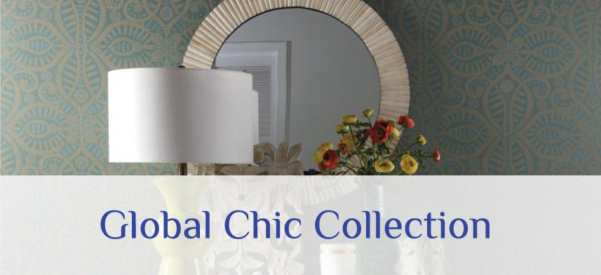 "About Wall Decor's ""Waverly Global Chic"" Wallpaper Collection"