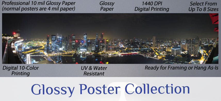About Wall Decor's Glossy Poster Collection
