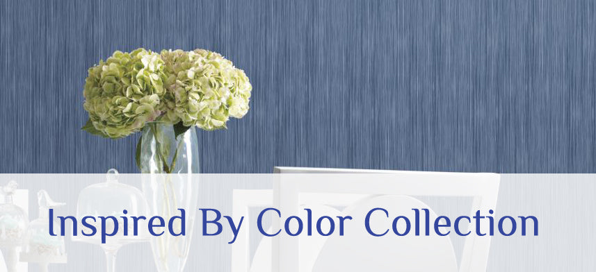 "About Wall Decor's ""Inspired By Color"" Wallpaper Collection"