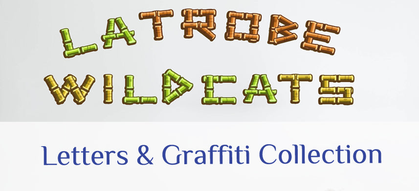 About Wall Decor's Letters & Graffiti Collection