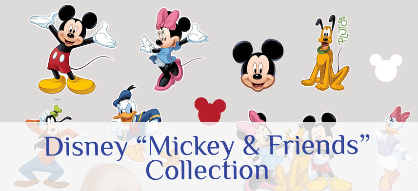 "About Wall Decor's ""Disney"" Mickey & Friends Collection"