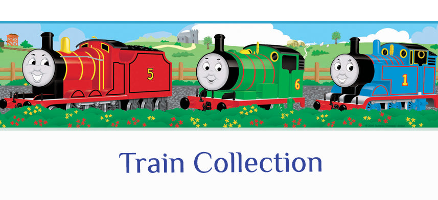 About Wall Decor's Train Collection