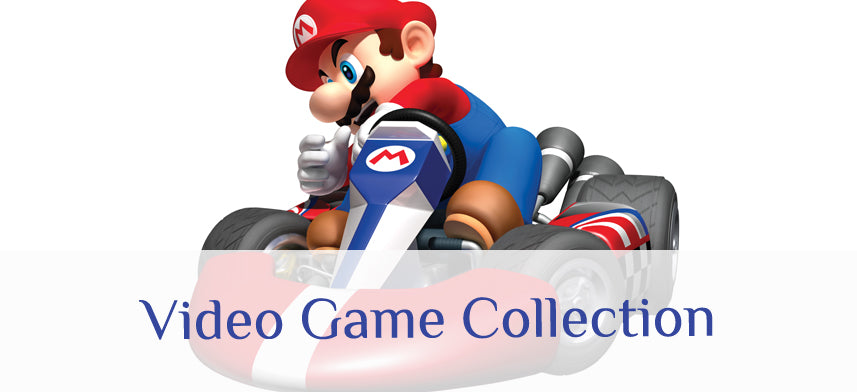 About Wall Decor's Video Game Collection