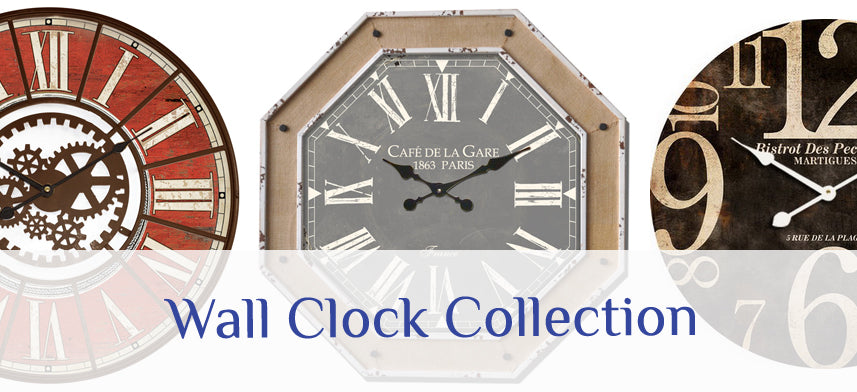About Wall Decor's Wall Clock Collection