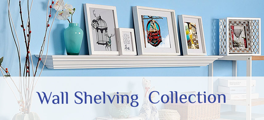 About Wall Decor's Wall Shelving Collection