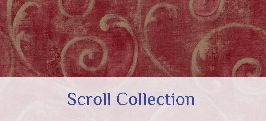 About Wall Decor's Scroll Wallpaper Collection