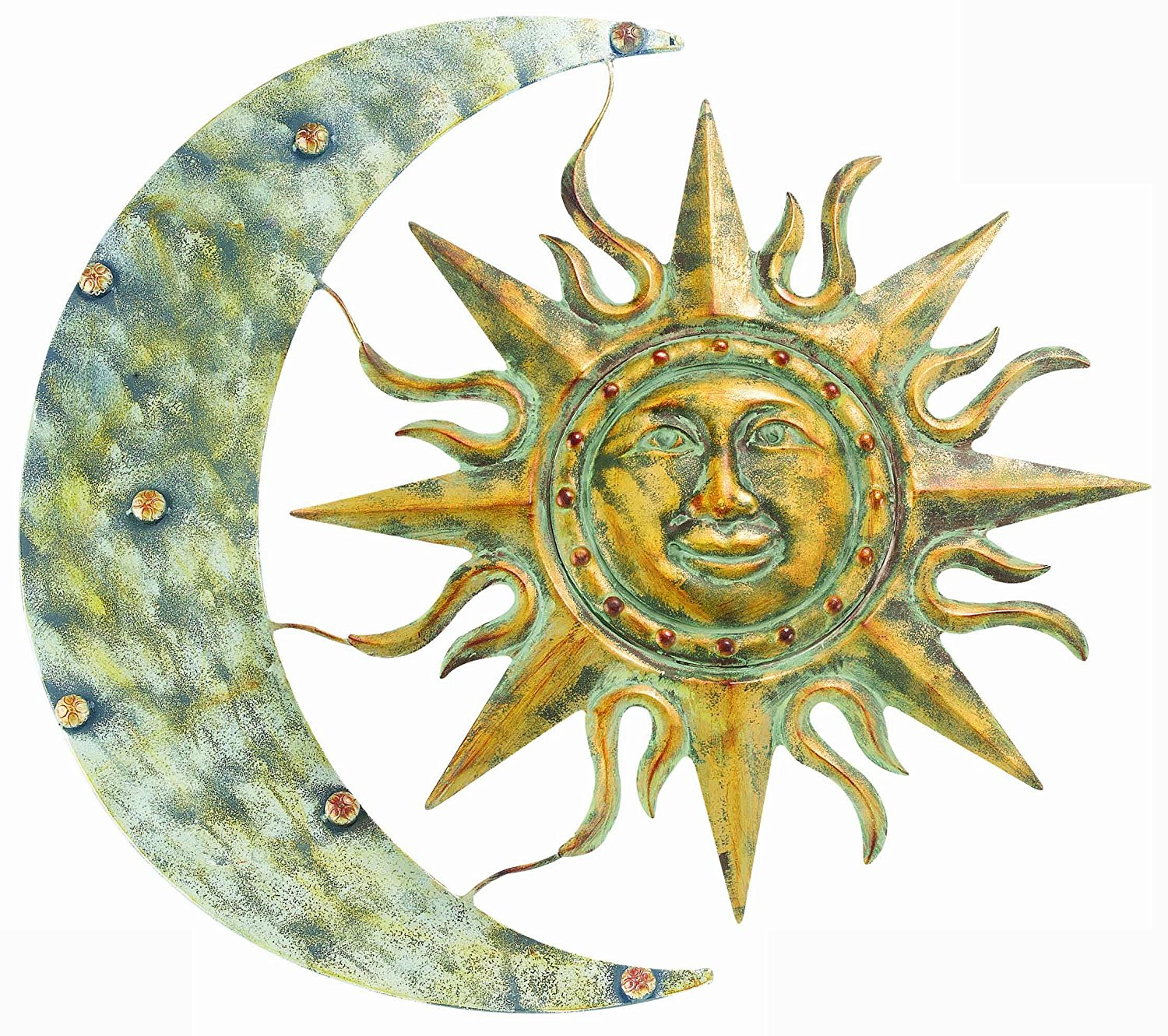 Gardman Aztec Sun and Moon Wall Art 24\