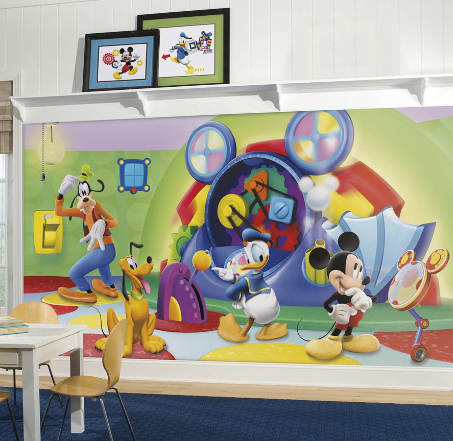Disney Mickey Mouse Clubhouse Capers Prepasted Wall Mural 105W x 6H