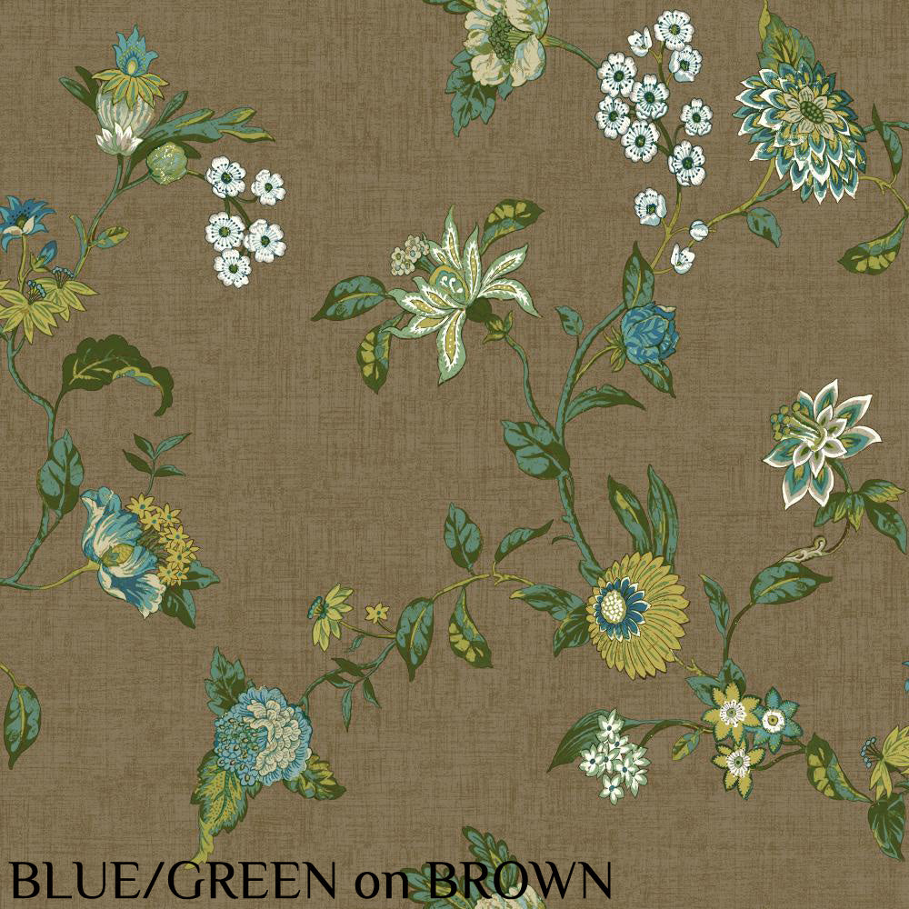 Waverly Graceful Garden Trail Wallpaper 6 Colors Available