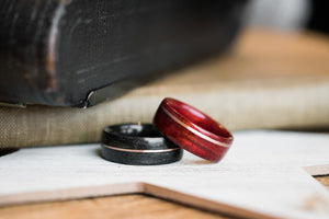 wedding bands his and her set