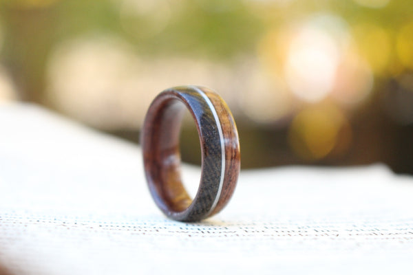 Wood and Wool: Honoring WWI in a Unique Men's Ring