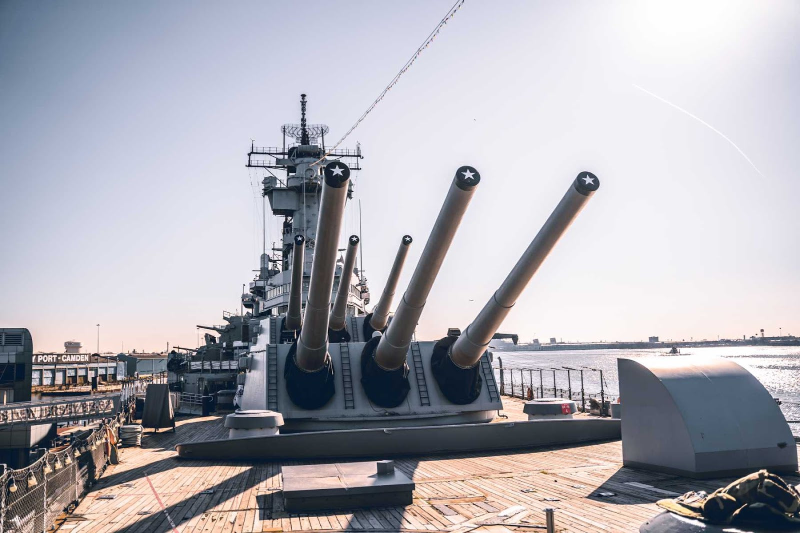 uss new jersey battleship guns