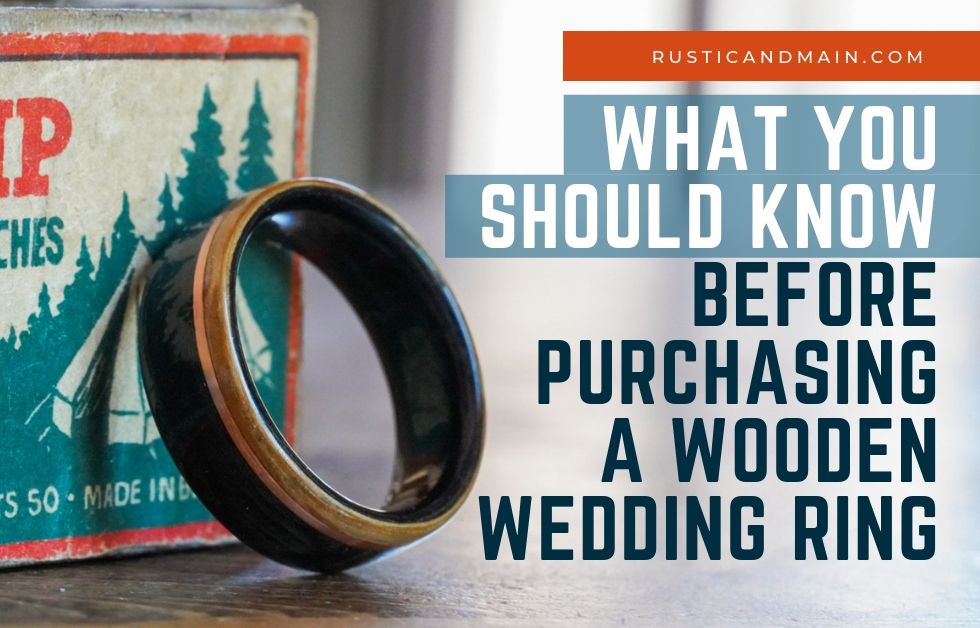 What You Should Know Before Purchasing a Wooden Wedding Ring
