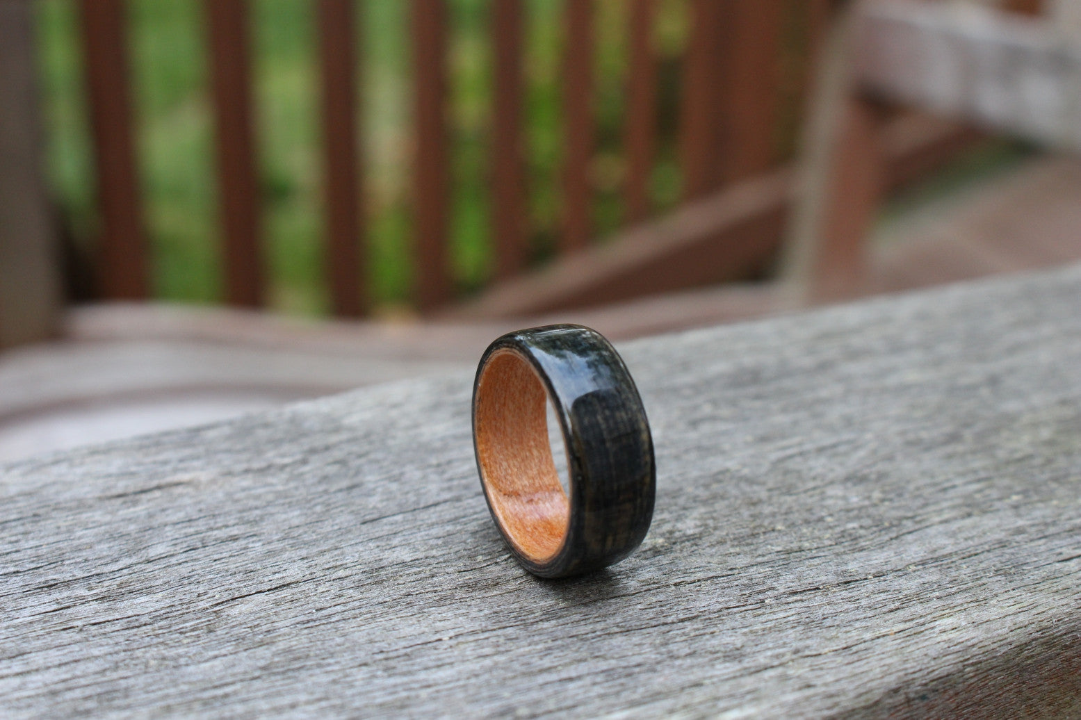 Creating Wooden Rings: Making the New, Old Again