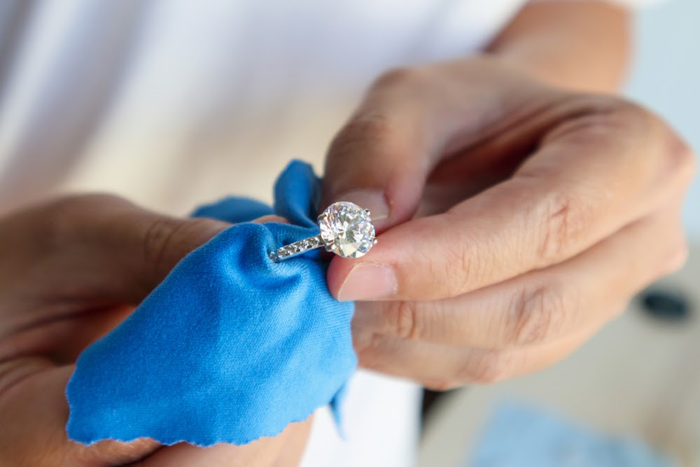 wedding ring care dry cleaning