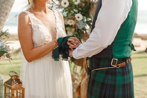 traditional celtic handfasting ceremony