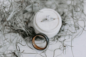 engagement ring vs wedding ring comparison
