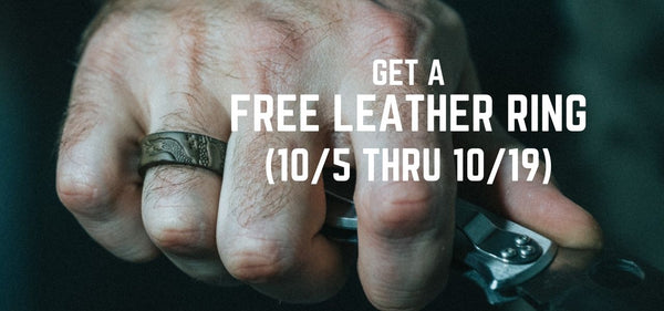 Free Leather Ring Promo