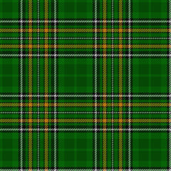 irish national tartan pattern