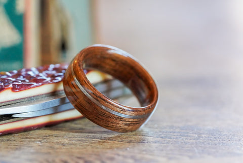 wood ring alternative men's rings