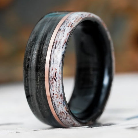 how to wear your wedding rings alternative materials